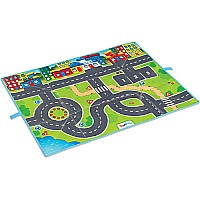 Viking Toys Play Mat with Cars