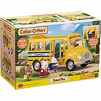 Calico Critter School Bus