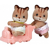 Calico Critters Hazelnut Chipmunk Twins