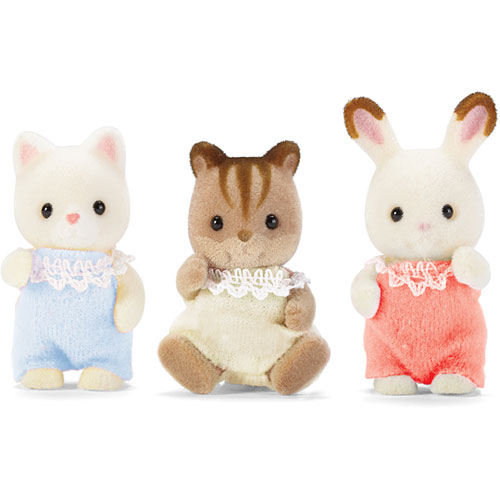 International playthings cc1482 baby friends calico - Calico critters deluxe living room set ...