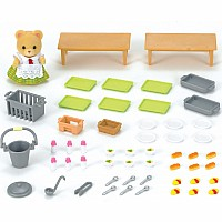 Calico Critters School Lunch Set Toy