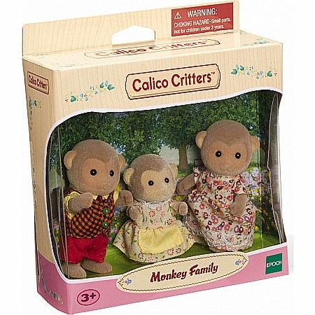 Calico Critters Mango Monkey Family Set