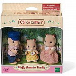 Fluffy Hamster Family Calico Critters