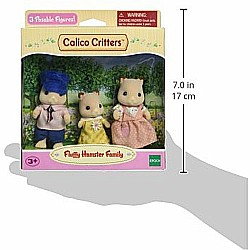 Calico Critters Fluffy Hamster Family Toy
