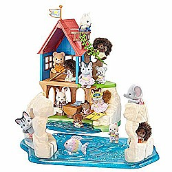 Calico Critters Secret Island Playhouse Toy
