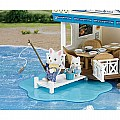 Calico Critters Seaside Restaurant Play Set - #1568