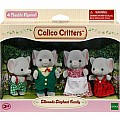 Calico Critters - The Ellwoods Elephant Family