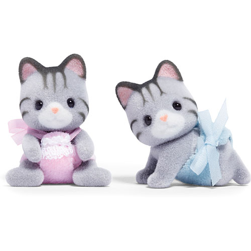 Calico Critter Fisher Cat Twins - Stevensons Toys