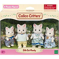 Calico critter Silk Cat Family