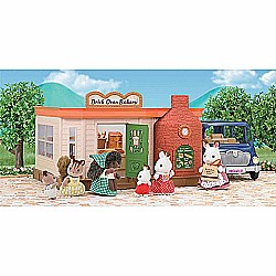 Calico Critters Girls Brick Oven Bakery Playhouse, Multicolor, One Size