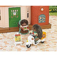 Calico Critters Girls Pizza Delivery Playset