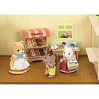 Calico Critters Doughnut Store Playset