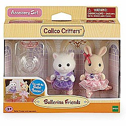 Calico Critters Girls Ballerina Friends Playset, Multicolor, One Size