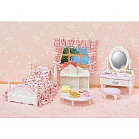 Calico Critters Bedroom & Vanity Set