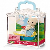 Calico Critters in Mini Carry Cases