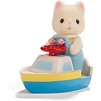 Calico Critters in Mini Carry Case