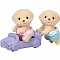 Calico Critters - The Yellow Labrador Twins