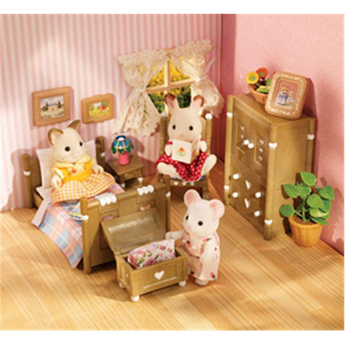calico critters bedroom country bedroom furniture set boon companion toys 10974