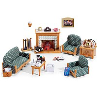 Calico Critter Deluxe Living Room Set