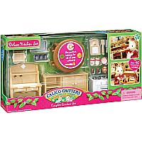 Calico Critter Deluxe Kitchen Set