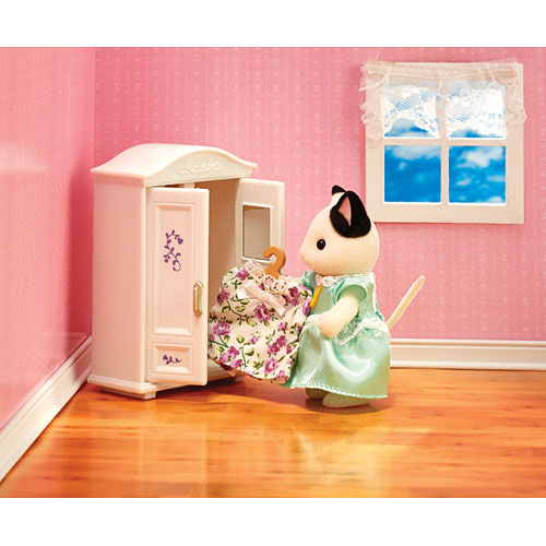 Contemporary Calico Critters Bedroom Set Model