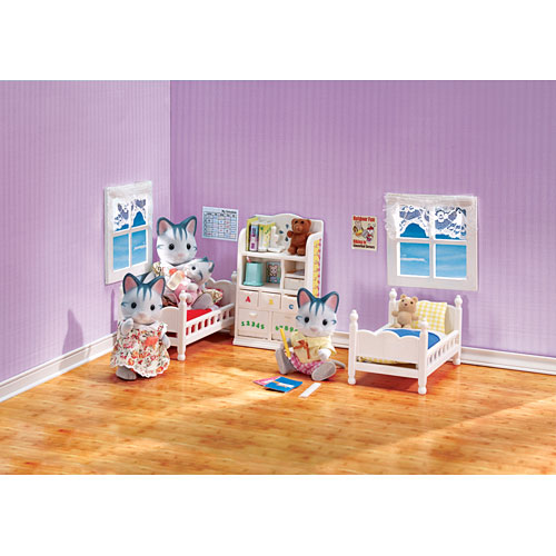 calico critters children's bedroom set  smart kids toys