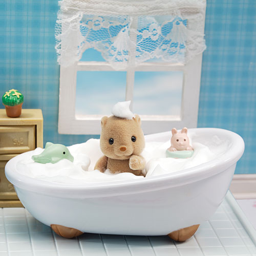 Calico Critters Deluxe Bathroom Set Smart Kids Toys - Calico critters bathroom