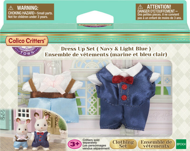 Dress Up Set (Navy & Light Blue)
