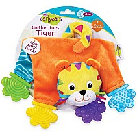 Teether Toes - Tiger
