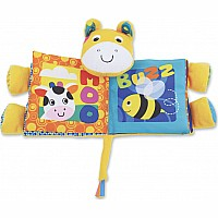 Earlyears Farm Friends Crinkle Book Baby Toy