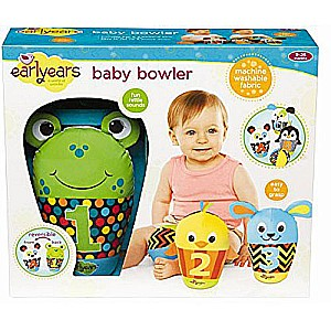 Earlyears Baby Bowler Playset