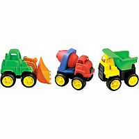 Little Tuffies Trucks by International Playthings