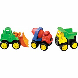 Little Tuffies Construction Trucks Kidoozie