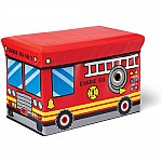 Fire Engine Toy Box