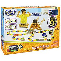 Kidoozie Deluxe Build-A-Road Toy - Mentally Stimulating and Employs Tactile Engagement - Fully Customizable - For Ages 3 and Up