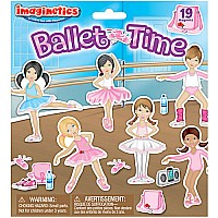 Ballet Time Magnetic Playboard