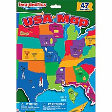 USA Map Large Imaginetics
