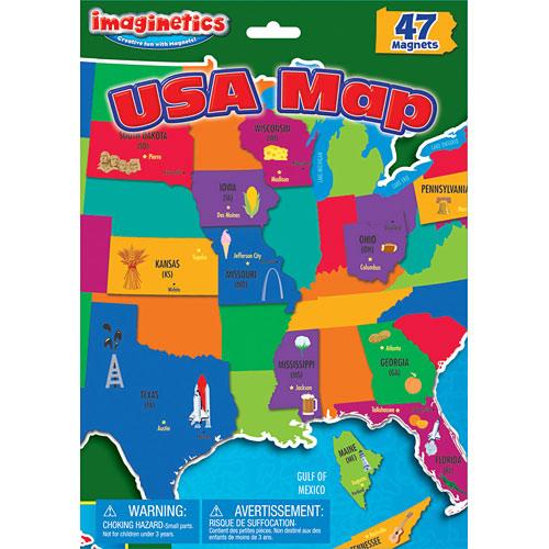 USA Map Imaginetics - Timeless Toys Chicago