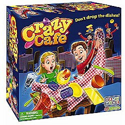 International Playthings Game Zone -  Crazy Cafe- Don't Drop the Dishes! - Hilarious Action Game for 3 and Up - Spin, Stack a