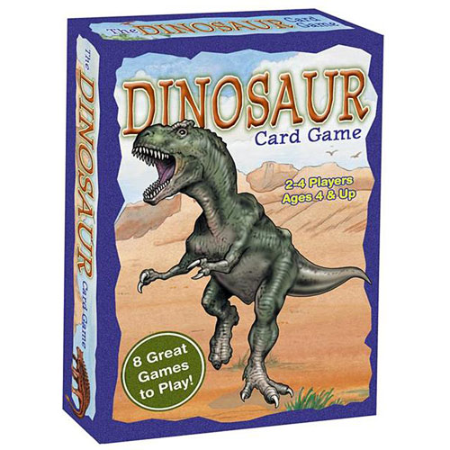 dinosaur card game by international playthings on barstons childs play. Black Bedroom Furniture Sets. Home Design Ideas