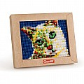 Quercetti Mini Cat Pixel Art for Ages 5+ (Made in Italy)