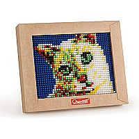 Quercetti Mini Cat Pixel Art  (Made in Italy)