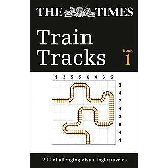 The Times Train Tracks: 200 Challenging Visual Logic Puzzles
