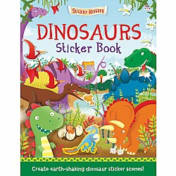 Dinosaurs Sticker Book: Create earth-shaking dinosaur sticker scenes!
