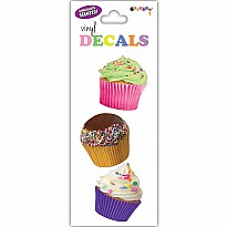 Cupcakes Small Vinyl Decals