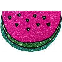 Watermelon Small Rhinestone Decal