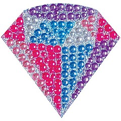 Diamond Small Rhinestone Decal