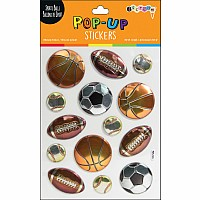 Sports Pop-Up Stickers