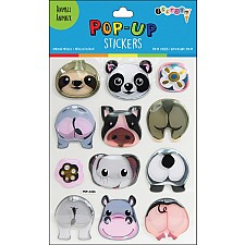 Animals Pop-Up Stickers