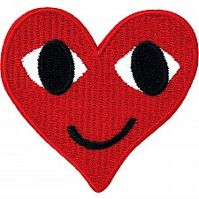 Smiling Hearts Patch